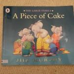 イギリス人らしいストーリー<br>【英語絵本】A Piece of Cake