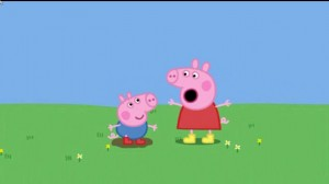 peppa pig  (ペッパピッグ) let's find some more puddles