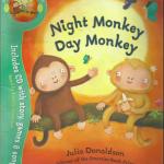 サルにも朝型夜型がある!?<br>【英語絵本】Night Monkey Day Monkey